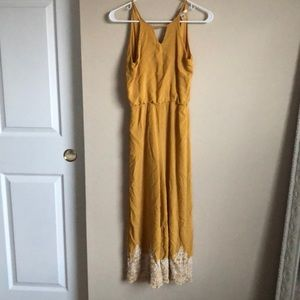 Yellow Francescas jumpsuit